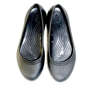 Croc back-to-work ballet flat